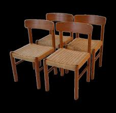 Vintage Wooden Dining Chairs Chair Room Vintage Danish Dining Chairs Charming Design Set Of