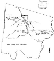 map of oregon springs file warm springs river basin png wikimedia commons