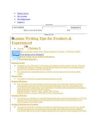 Resume Format Pdf For Tcs by Upload Resume In Tcs Free Resume Example And Writing Download