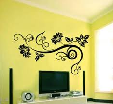 Wall Decor Stickers by Wall Decor Stickers Flowers Interior Exterior Doors