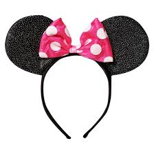pink headband disney minnie mouse headband target