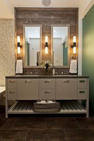 bathroom double sink bathroom glass doors bathroom lightning