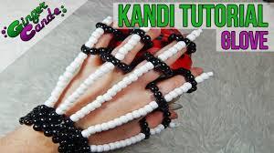 halloween skeleton gloves skeleton gloves kandi tutorial gingercande youtube
