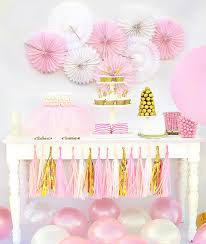 Pink And Gold Baby Shower Decorations ballerina birthday party ideas ballerina birthday party pink and