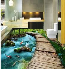 3d bathroom flooring bathroom 3d floor 1 a complete guide to 3d epoxy flooring and