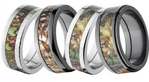 Camouflage Wedding Rings by Mossy Oak Camo Jewelry Really Alloutdoor Com