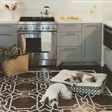 painted kitchen floor ideas 323 best stenciled painted floors images on floor