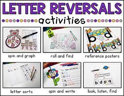letter reversals a teachable teacher