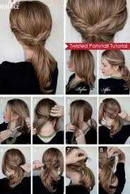 hair tutorials for medium hair medium hair ponytail styles 2017