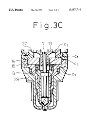 patent us5497744 fuel injector with an integrated spark plug for