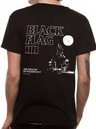 Blag Flag Black Flag Process Of Weeding Out T Shirt Preview Clothes