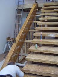3200 lb free floating stairs west vancvouer integrity woodworks