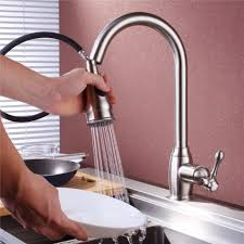 Pull Out Sprayer Kitchen Faucet Best Single Handle Pull Out Down Sprayer Kitchen Sink Faucets
