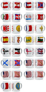 Confederate States Flags Naval Ensign Flag Mugs
