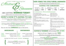 program for wedding ceremony template finallly finished the ceremony program weddingbee photo gallery