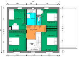plan etage 4 chambres 7 best plan maison étage 4 chambres images on house