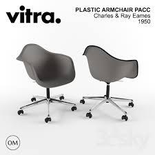 Vitra Eames Plastic Armchair 3d Models Arm Chair Vitra Eames Plastic Armchair Pacc