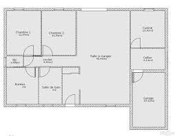 plan de maison de plain pied avec 3 chambres plan maison gratuit plain pied 3 chambres idées décoration intérieure