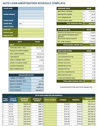 Payment Schedule Excel Template Free Excel Amortization Schedule Templates Smartsheet