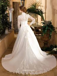 wedding dress with bolero strapless organza chapel fall wedding dress with bolero