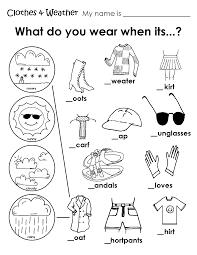 weather worksheets for kindergarten free worksheets library