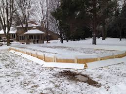 Ice Skating Rink Backyard by Ice Skating Rinks Warner U0027s Outdoor Solutions