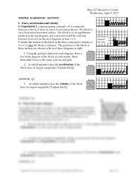 worksheet lec02 pdf physics 123 with pedigo at university of