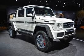 maybach the g650 landaulet gets unimog genes to go where no maybach has