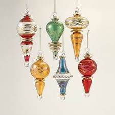 luxor blown glass ornaments kurt s adler