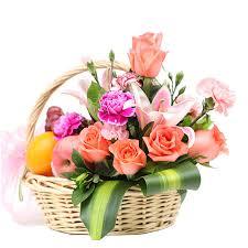 fruit flower baskets flower basket business fruit basket to visit the flowers of