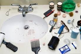 Messy Bathroom What Bathroom Stuff Annoys Us Canstar Blue