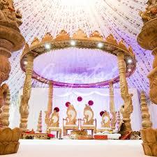 mandaps indian wedding mandap gayatri weddings