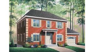 federal style house plans home plan homepw08282 2300 square foot 3 bedroom 2 bathroom