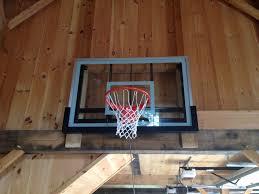 Indoor Wall Mounted Basketball Hoop For Boys Room Hoops Plus Let The Games Begin Basketball Wall U0026 Roof Mounts