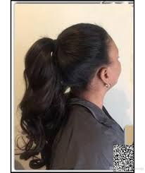 Real Ponytail Hair Extensions by Brazilian Natural Hair Ponytail Human Real Hair Pony Tail Clip In