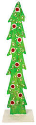nicole crafts curlicue wood tree christmas craft moore