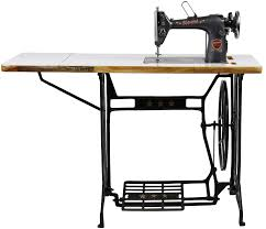 sewing machine table amazon aarti ta 1 round arm sewing machine grey amazon in home kitchen