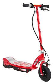razor e250 electric scooter red walmart com