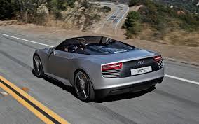 maserati tron audi e tron spyder concept first drive motor trend