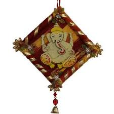 homeshop18 home decor little india handcrafted home decor ganesha wall hanging 116