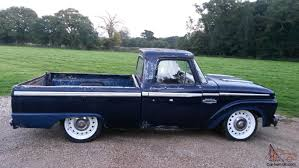 1985 Ford F100 Ford F100 Pick Up Rat Rod 1966 Recent Import With A Police