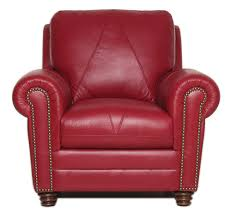 la z boy xavier red leather swivel chair mathis brothers furniture