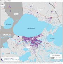 New Orleans Parish Map by Our Changing Demographic Landscape Mapping Collection The Data