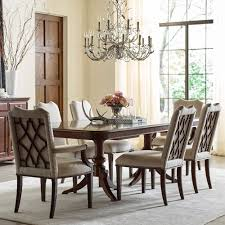 kincaid furniture hadleigh seven piece formal dining set with