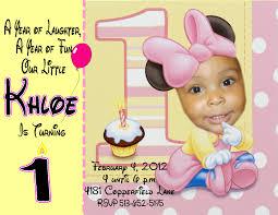 baby minnie mouse birthday invitations alanarasbach com