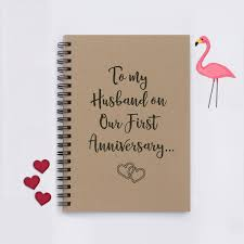 For My Husband On Our First Anniversary To My Husband On Our First Anniversary