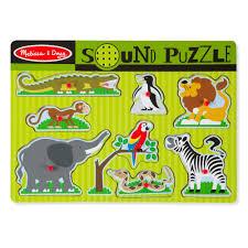 doug melissa u0026 doug zoo animals sound puzzle 10 00 hamleys for