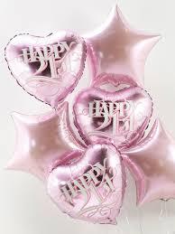 birthday balloon bouquet delivery 21st birthday balloon bouquet