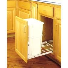 Kitchen Cabinet Trash Can Pull Out Trash Can Cabinet Trash Cans Diy Pull Out Trash Can In A Kitchen