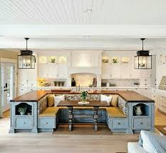 kitchen island with built in table kitchen island with built in seating this but prefer more